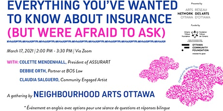 Everything you've wanted to know about insurance (but were afraid to ask) tickets