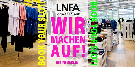 LNFA - Conceptstore - Private Shopping Tickets