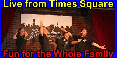 IMPROV 4 KIDS Off Broadway Live from Times Square