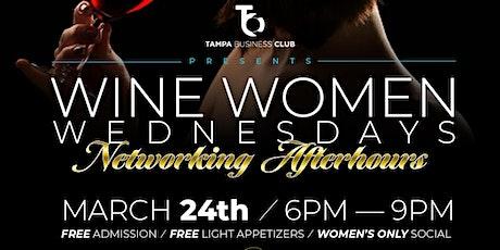 Women Wine Wednesdays tickets