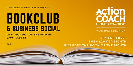 BookCLUB and Business Social tickets