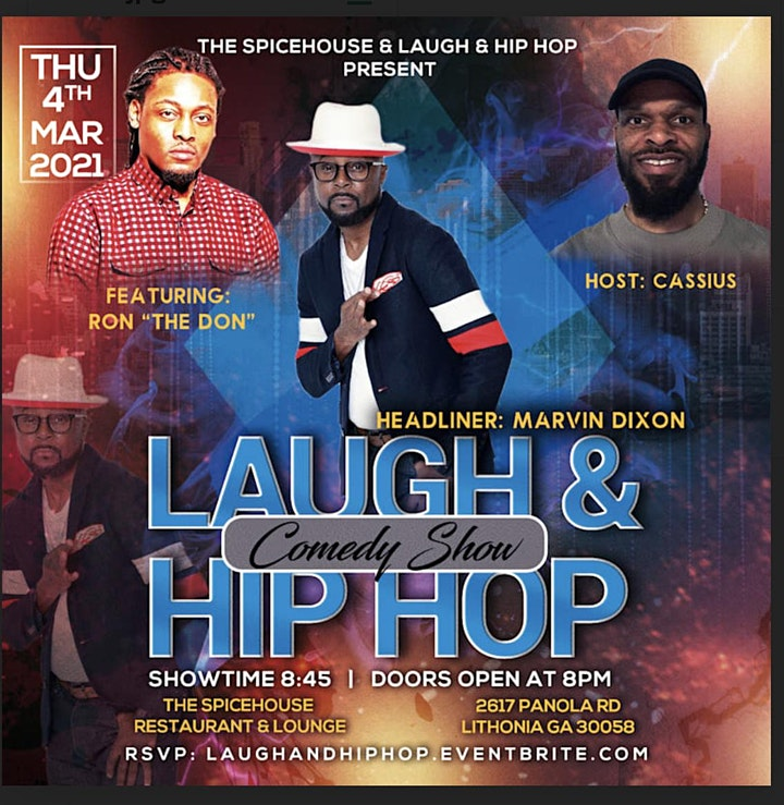 LAUGH & HIP HOP COMEDY SHOW at The Spicehouse image