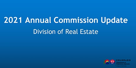 2021 Annual Commission Update (online) tickets