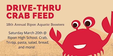 18th Annual Ripon Aquatics Crab Feed - Drive-Thru tickets