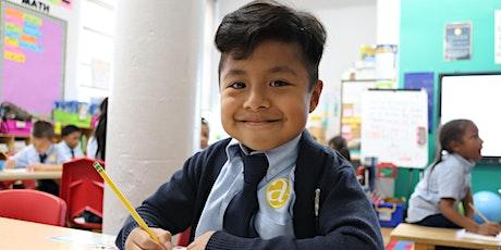 Casa Abierta Virtual de las Escuelas Amber Charter-Presentación en Español entradas