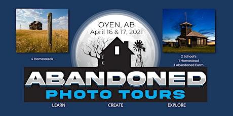 Abandoned Photo Tours:  Oyen Alberta tickets