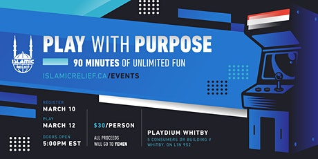 Play With Purpose tickets