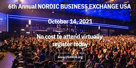Nordic Business Exchange USA 2021 tickets