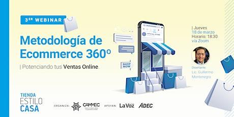 Metodología de Ecommerce 360º - Potenciando tus ventas online entradas