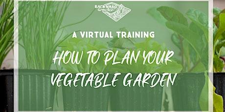 Workshop: How to Plan Your Vegetable Garden tickets