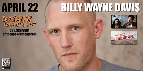 Comedian Billy Wayne Davis at Off The Hook Comedy Club in Naples, Florida tickets