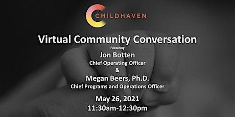 Childhaven Conversation tickets