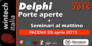 Delphi Porte Aperte 2015