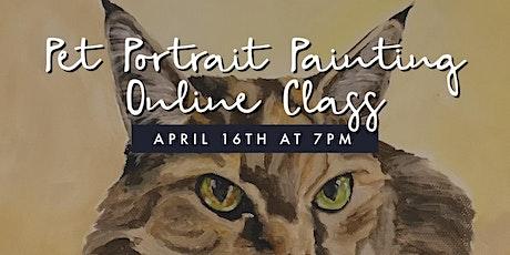 Pet Portrait Painting: Online Class tickets