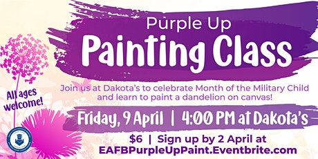 Purple Up Painting Class tickets