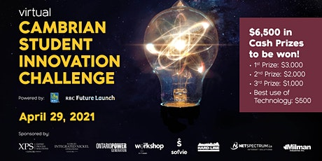 Cambrian Student Innovation Challenge - Powered by RBC Future Launch tickets