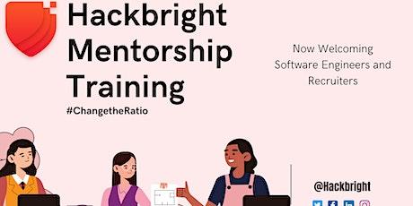 Hackbright Mentorship Training tickets