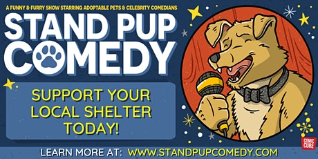 Dogs, Cats and Comedians - It's Stand Pup Comedy Online! tickets