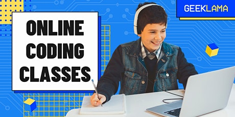 FREE Online Coding Class for Kids - Scratch tickets