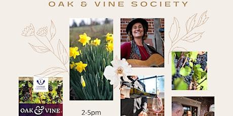Oak & Vine Society spring tasting 2021 tickets