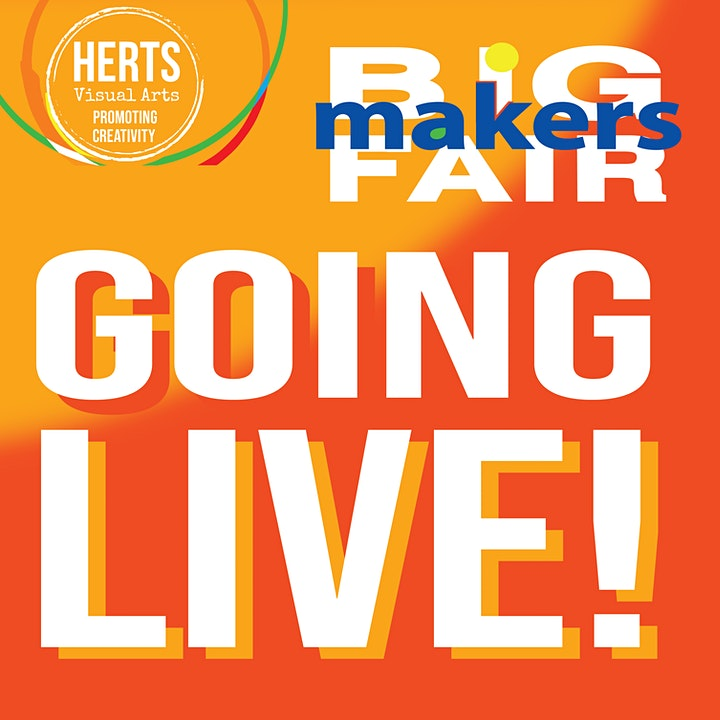 Herts Visual Arts 2021 Big Makers Fair Private View image