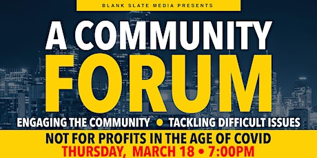BLANK SLATE MEDIA PRESENTS: NOT-FOR-PROFITS IN THE AGE OF COVID-19 tickets