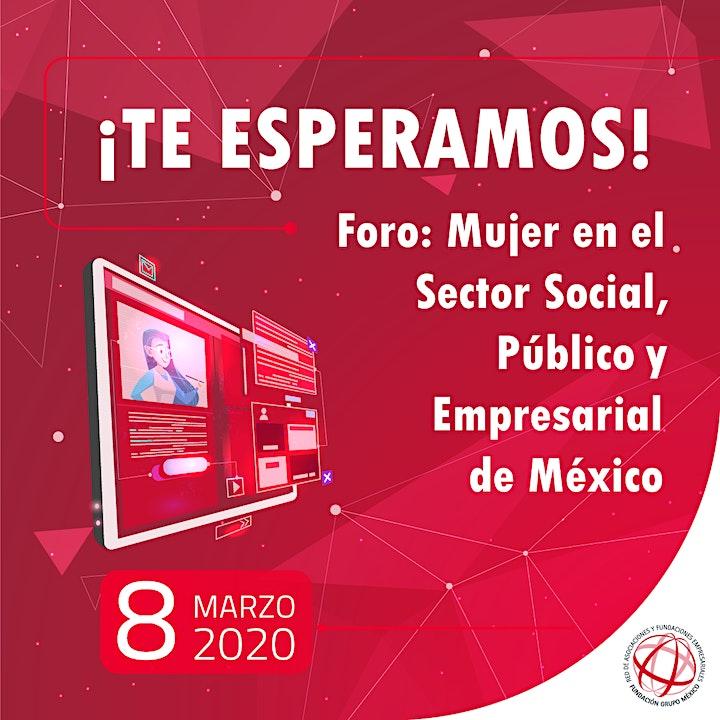 Imagen de Foro: Mujeres en el sector social, empresarial y público de México