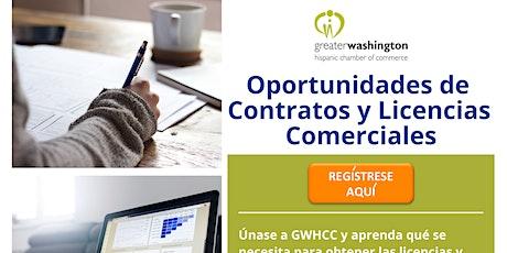 Oportunidades de Contratos y Licencias Comerciales bilhetes