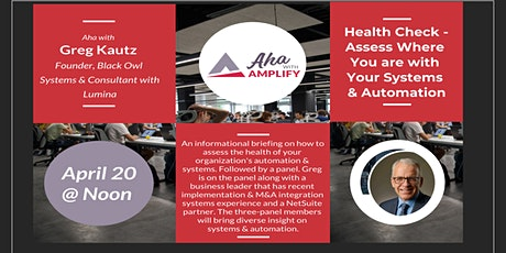 Health Check - Assess Where You are with Your Systems & Automation tickets