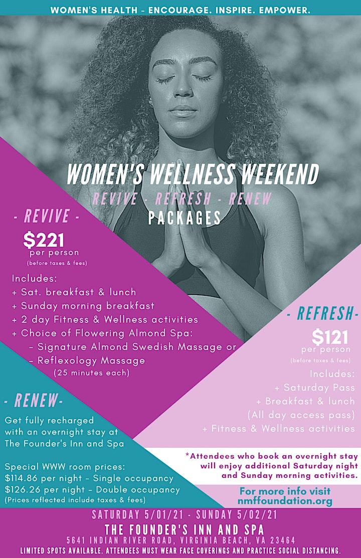 Women's Wellness Weekend image