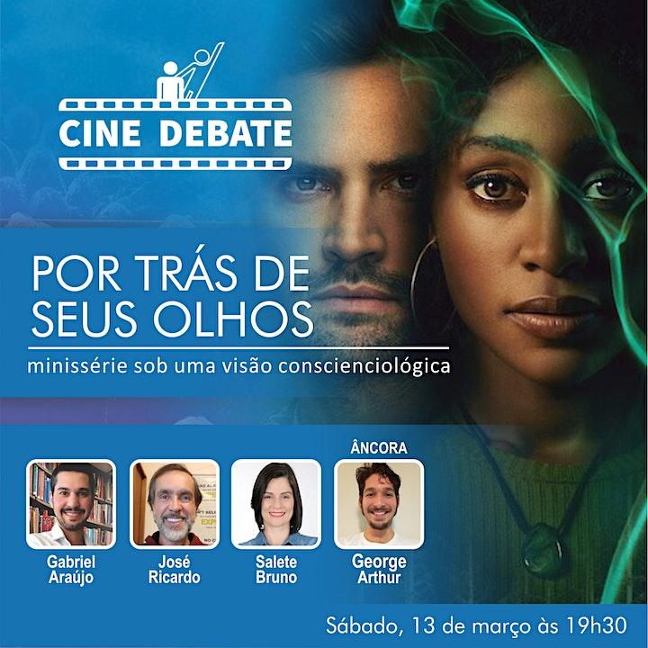 Imagem do evento Live - Cine Debate: Por Trás de Seus Olhos