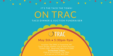 On TRAC Fundraiser: Dinner & Auction tickets