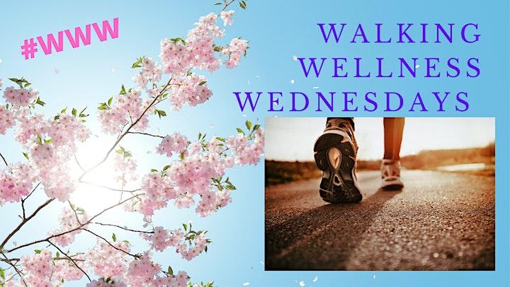 Walking  Wellness Wednesdays image