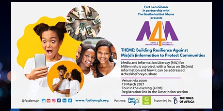 Media and Information Literacy (MIL) for Millennials (M4M) Tickets