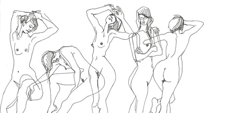 Life Drawing (online): Movement & Music tickets