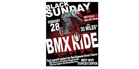 Black Sunday BMX Ride tickets