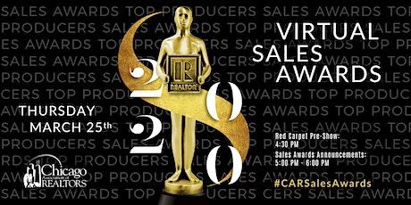 2020 Virtual Sales Awards tickets