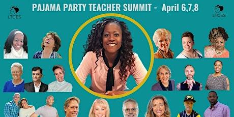 Pajama Party Teacher Summit tickets