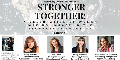 Stronger Together: A Celebration Of Women Making Impact In Technology tickets