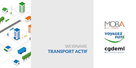 Webinaire : le transport actif dans les déplacements domicile-travail billets