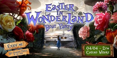 Easter in Wonderland Boat Party tickets