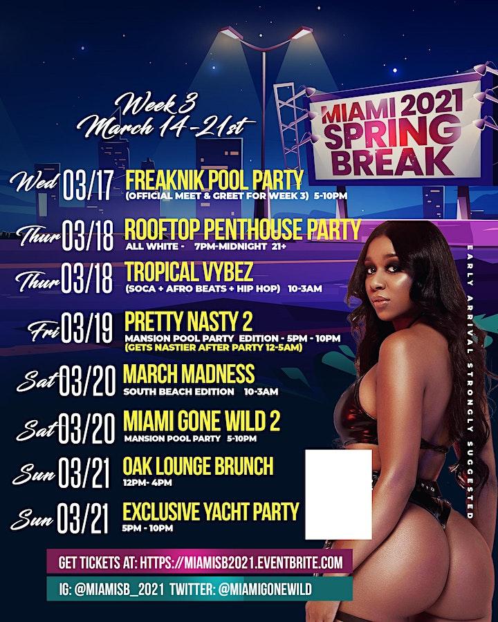 Official Miami Spring Break 2021 image