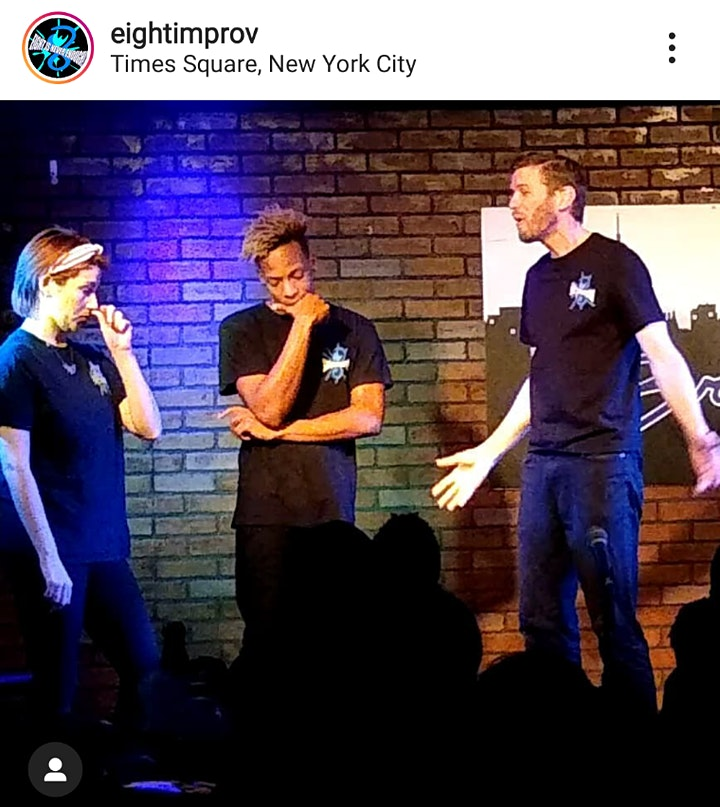 EIGHT IS NEVER ENOUGH at Broadway Comedy Club NYC image
