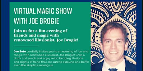 Virtual Magic Show with Joe Brogie tickets