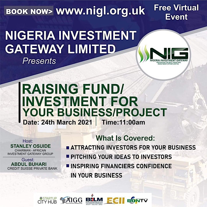 Raising Fund/Investment for your Business/Project image