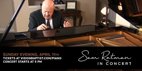 Piano Concert with Sam Rotman tickets
