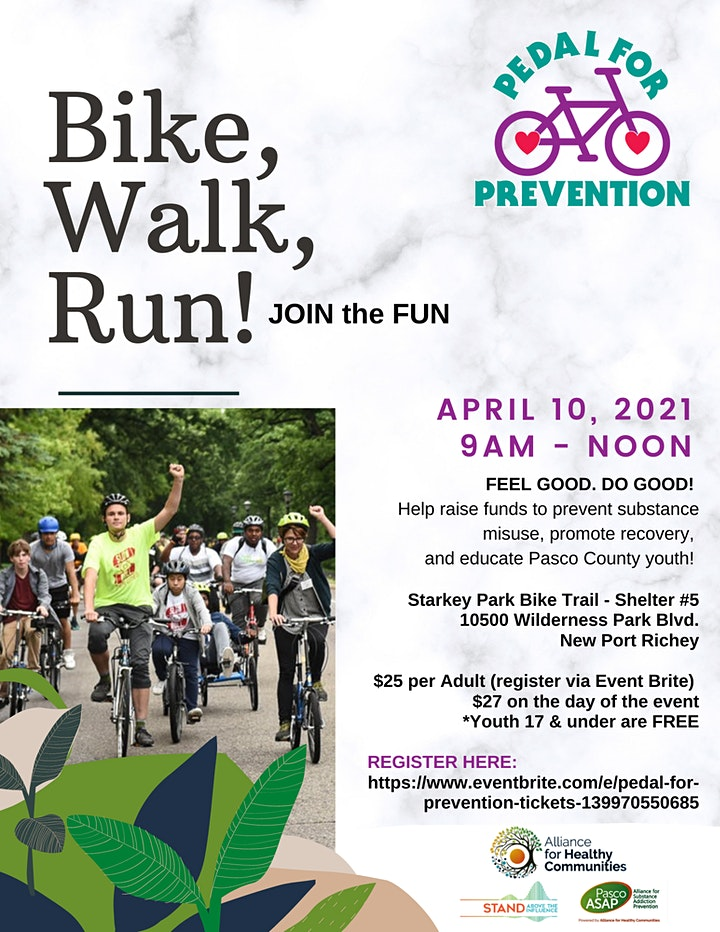 Pedal for Prevention image