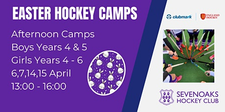 Sevenoaks Hockey Club Easter Camp Afternoons tickets