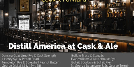 Distill America at Cask & Ale tickets