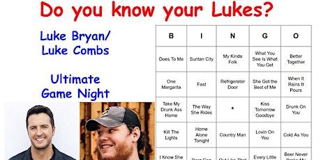 Luke Bryan/Luke Combs Ultimate Game Night tickets
